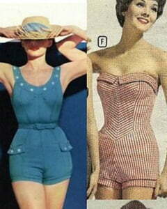 An Introduction to 1950s Swimwear