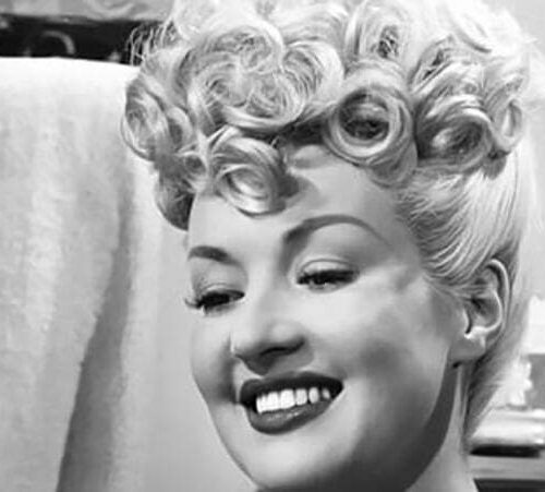 """1950s Pin Up Hair: How to style like Pin Up Girl """"Betty Grable""""?"""