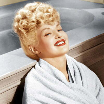 "1950s Hairstyle: How to Style Like Pin-Up Girl ""Betty Grable""?"