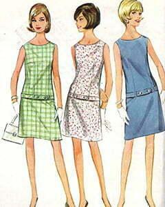Three carton women