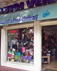 a vintage shop Luigi