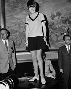 Mini skirts founder