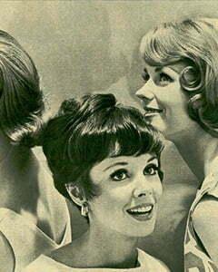 Three happy women