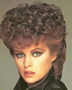 1980s hairstyle