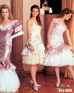 3 nice 1980s dresses