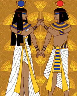 Two egyptions