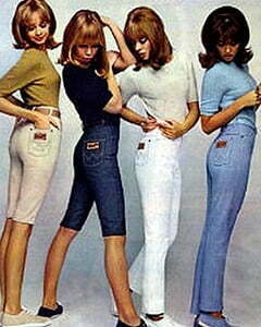 4 women with pants