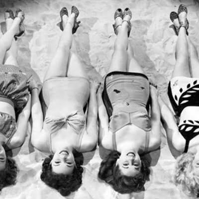 "1940s Swimsuits into Radical Items ""Bikini"""