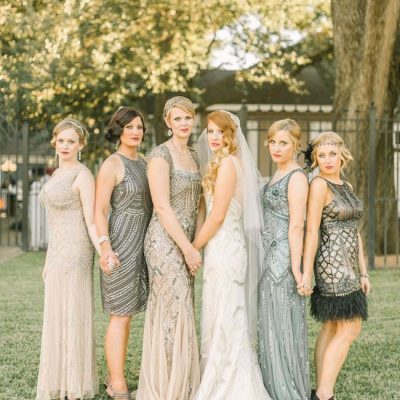Roaring 20s Themed Wedding: Plus Size Bridesmaid Dress Guide