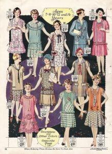1920s-children-clothing--girls-dresses