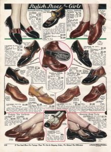 1920s-children-clothing-girls-shoes