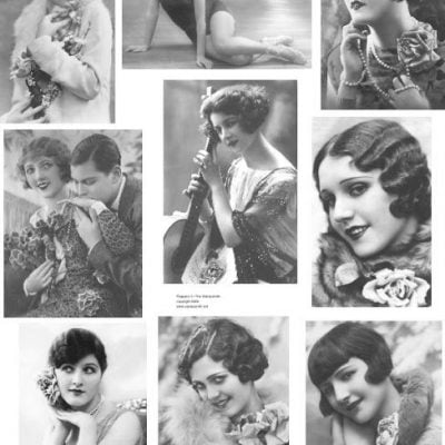 1920s Flapper Hairstyle Recreation: How to Make the Marcel Waves