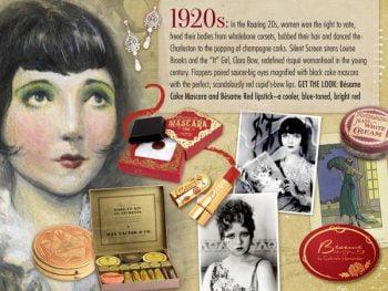 20s Makeup: Popular Lipstick Color
