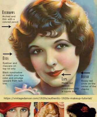 How to Apply the 1920s Flapper Girl Makeup