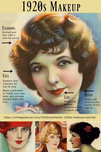 Apply The 1920s Flapper Girl Makeup