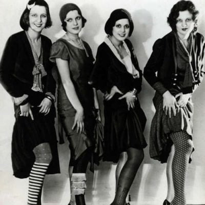 1920s Style Stockings: To Be the Sexy One