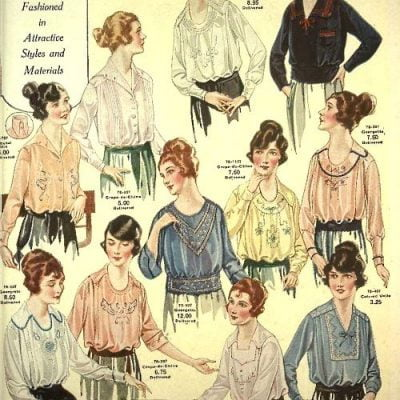 1920s Tops: Emancipation of Women