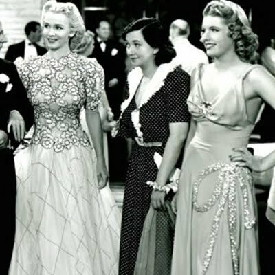 1940s Hollywood Fashion – Hollywood Designers & Stars
