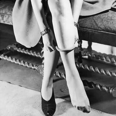 1940s Stockings-Women's Fashion that Lives in the Cracks