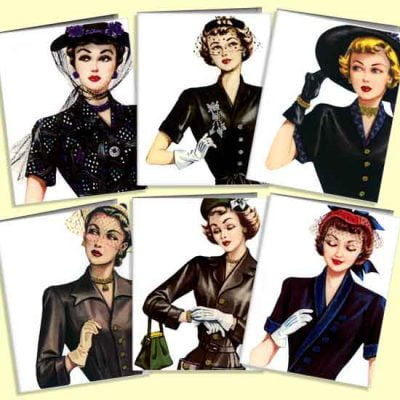 Enjoy the Old Fashion – 1940s Accessories Guide