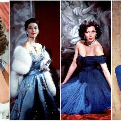 1940s Hollywood Fashion- Ava Gardner's Fashion
