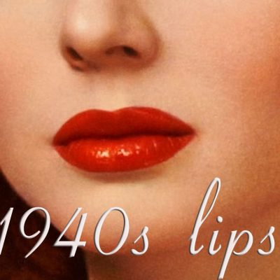 1940s Makeup Fashion: Red Color Lipstick Won the Hearts of the Many