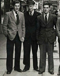 1940s Men's Fashion