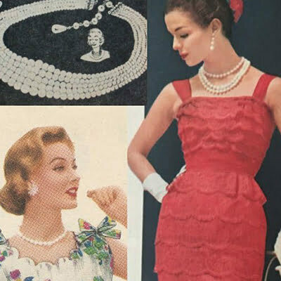 1950s Vintage Jewelry Identification and Outfit Tips