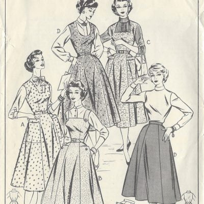 How to Make a 1950s Dress Pattern on Your Own