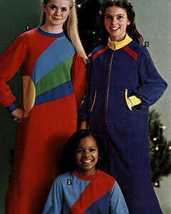 1980s girl fashion