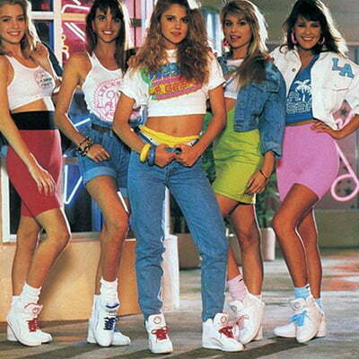 1980s Women Fashion: Clothes, Patterns and Shoes