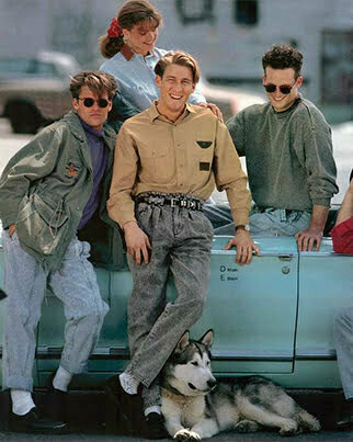 1980s men's Fashion