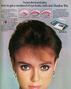 1980s makeup
