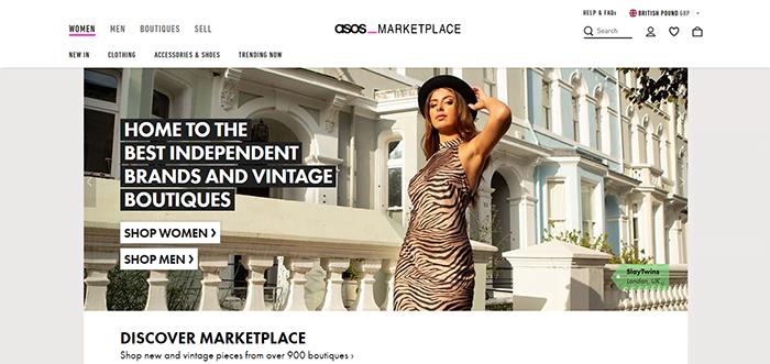 ASOS Marketplace shop