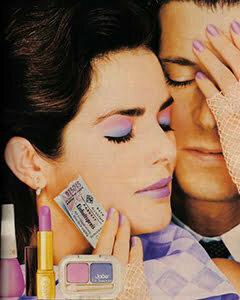 1980s Colorful Eye Makeup