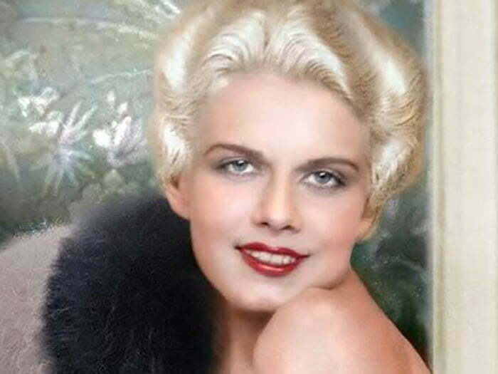 Jean Harlow hair