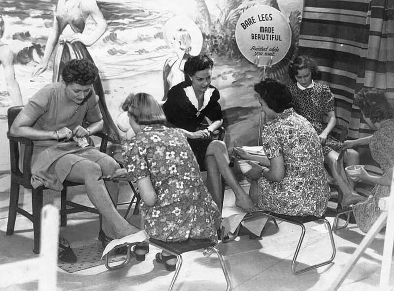 1940s Leg make up