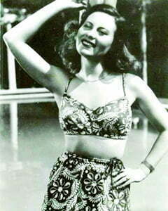 1940s Two-piece swimsuits