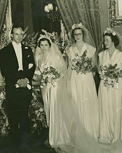 1940s New wedding dresses
