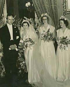 1940 Wedding Dress Unpretentious Romance Of War Vintage Retro