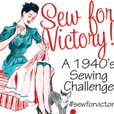 1940s Sewing Patterns:  Frugal Style Shift to Opulent Look