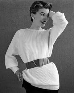 1940s Sloppy Joe sweaters