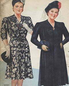 1940s plus size