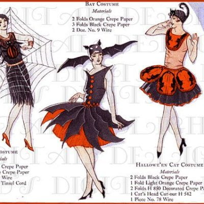 Vintage Halloween Costume Ideas for Women from 1920s to 1980s
