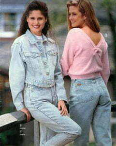 1980 girl clothes