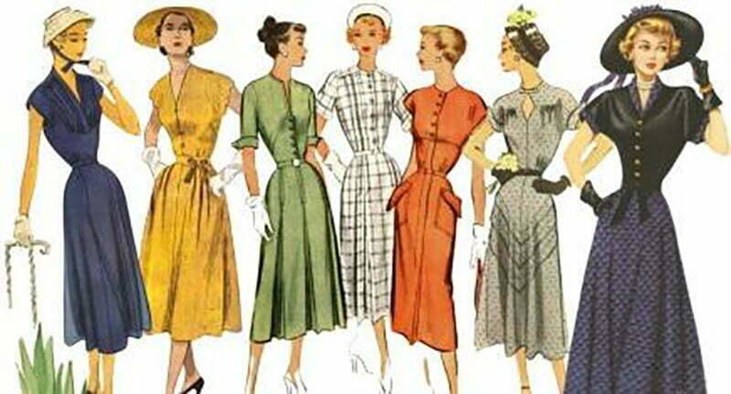1940s Slimming patterns