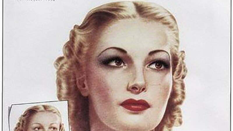 1940s rouge