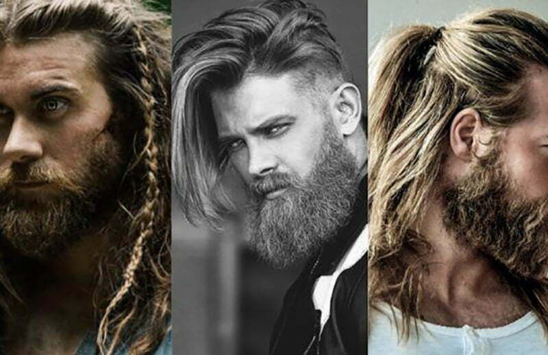 men long hair