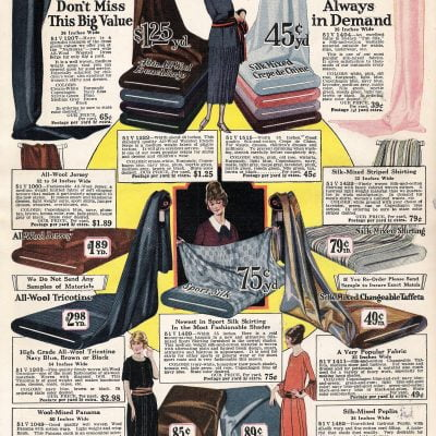 Fabrics & Colors of 1920's fashions You May Wanna Know