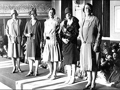 1920s Department Store Fashion Shows Introduction – 1920s Fashion History